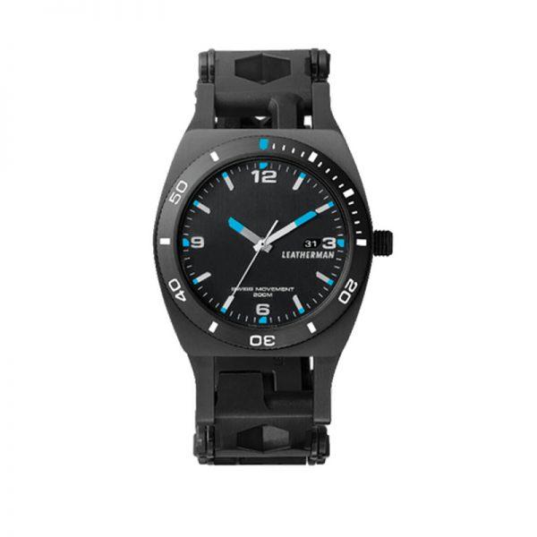 Leatherman Multitool Tread Horloge Tempo Black exclusieve relatiegeschenken