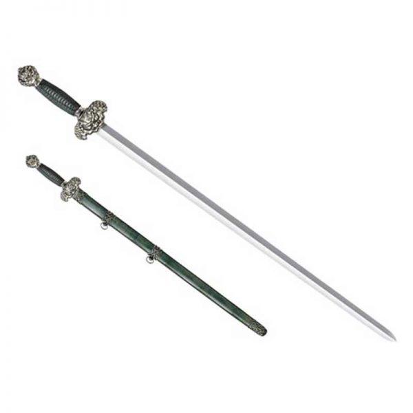 jade lion gim cold steel saber relatiegeschenk graveren