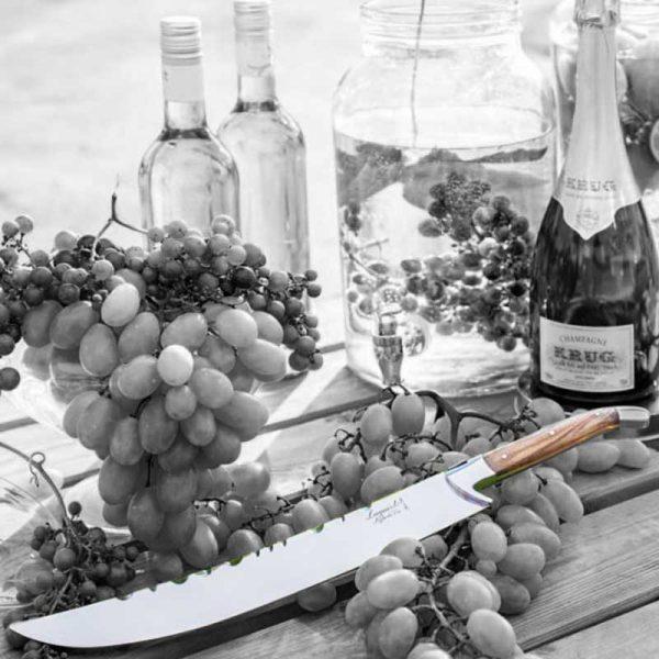 champagnesabel olijfhout tyle de vie relatiegeschenk