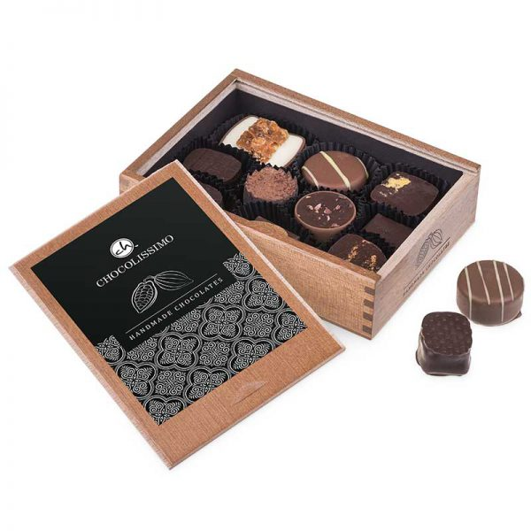 elegance belgische chocolade relatiegeschenk pralines