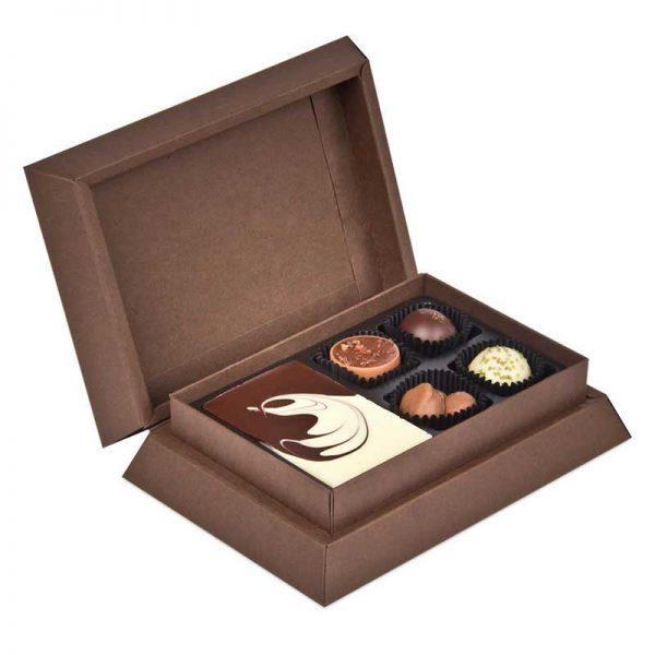 belgische chocolade first selection mini luxe relatiegeschenken