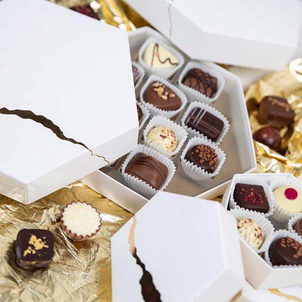 chocolade relatiegeschenken white treasure midi
