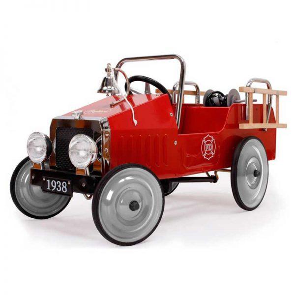 geboortegeschenk brandweerwagen loopauto relatiegeschenk