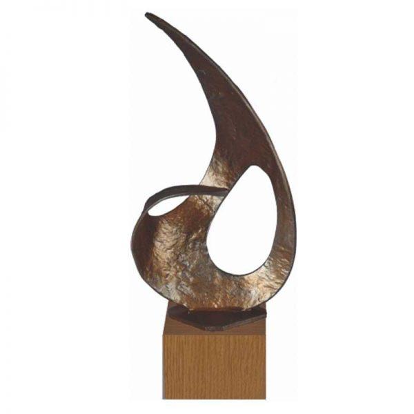 relatiegeschenk sculptuur de weg naar de top brons sculptuur